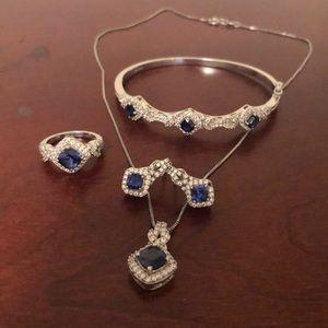 Jewelry - Sapphire Jewelry set